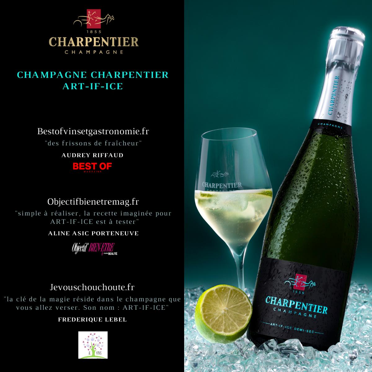 Champagne ART-IF-ICE PRESSE